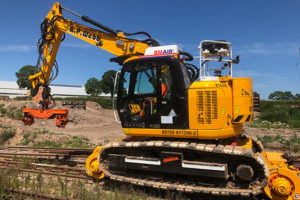 JCB JZ140 Rail Modified