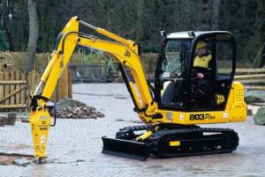 JCB 803 Excavator