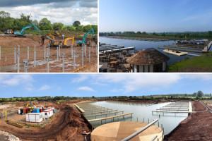 Construction of Aston Marina