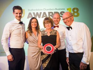 AP Webb awarded with medium large business of the year 2018