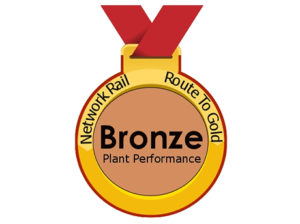 Network Rail bronze plant performance award