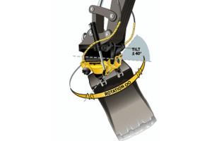 Engcon Tilt Rotator