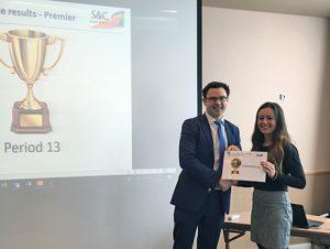 SC South Alliance Supplier Award 2019 acceptance